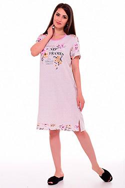 Сорочка ночная трикотажная 2-047