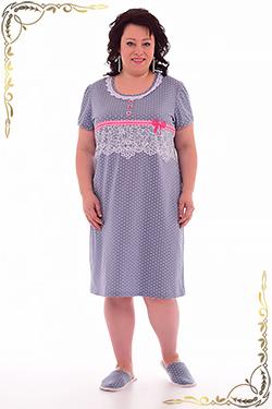 Ночная сорочка из кулирки 2-42