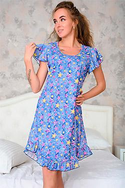 Сорочка женская с рукавом крылышком 22004