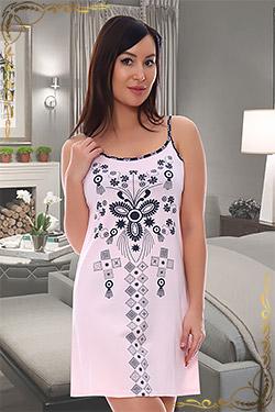 Ночная сорочка женская с принтом 5531