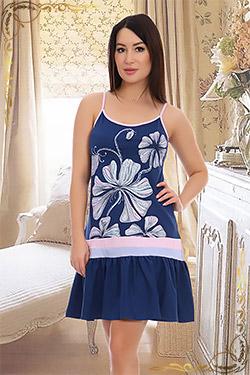 Сорочка трикотажная женская 5544