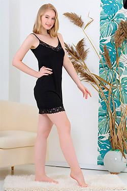 Сорочка элегантная с кружевом 6174