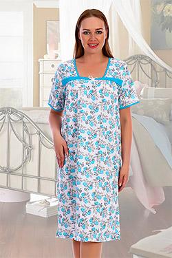 Сорочка женская с квадратным вырезом Каре