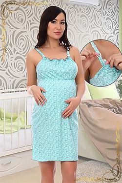Ночная сорочка из 100% хлопка для беременных Сказка