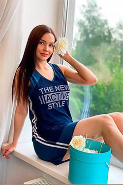 Туника женская в спортивном стиле 7159