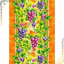 Вафельное полотенце Виноград 50Х70