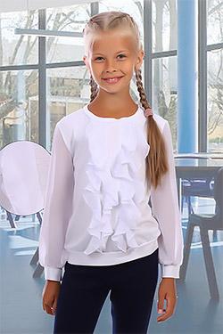 Водолазка на девочку с воланами 31002
