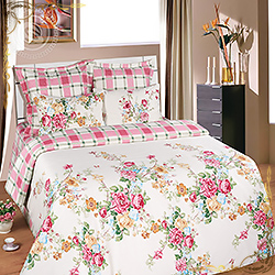 Комплект постельного белья Жоржетта из сатина